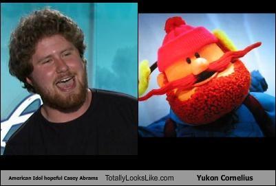 American Idol Hopeful Casey Abrams Totally Looks Like Yukon Cornelius