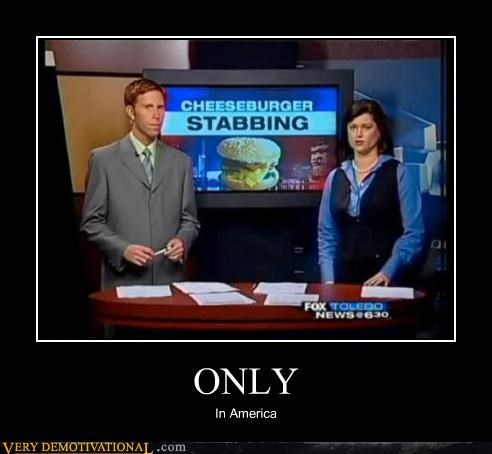 america,cheesburger,fox,news,stabbing