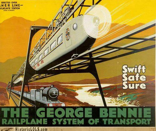 Vintage Future: The Railplane