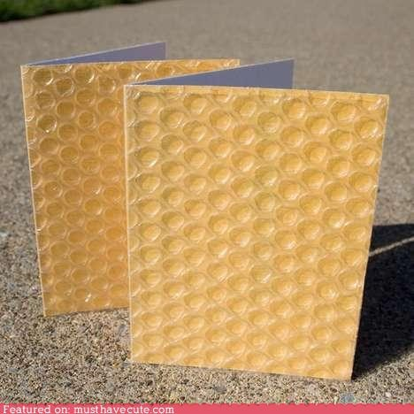 Bubble Wrap Greeting Card