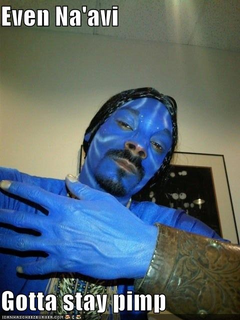 Snoop Dogg In James Cameron's Avatizzar