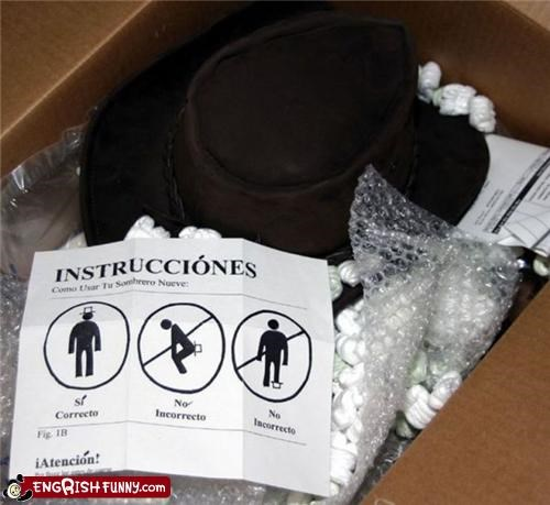 hat,instructions,wtf