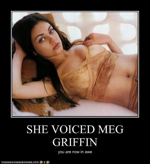 SHE VOICED MEG GRIFFIN