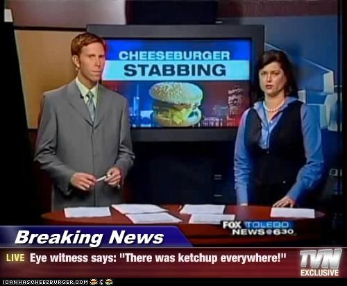 cheeseburger,headlines,news,silly,stabbing,violence