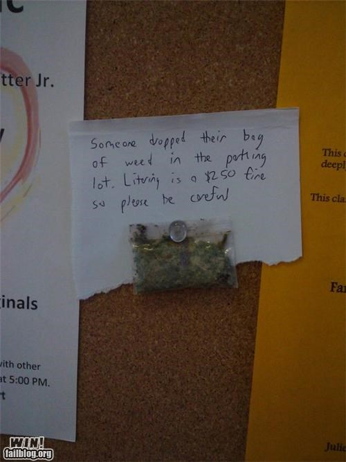 Littering Note WIN