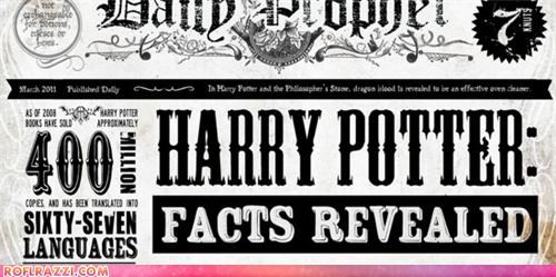Infographic: The World Of Harry Potter