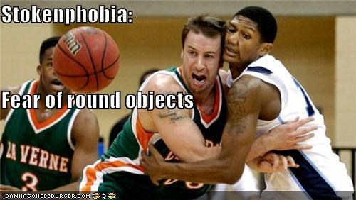 Stokenphobia: Fear of round objects