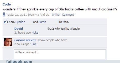 Charlie Sheen,coffee,Starbucks