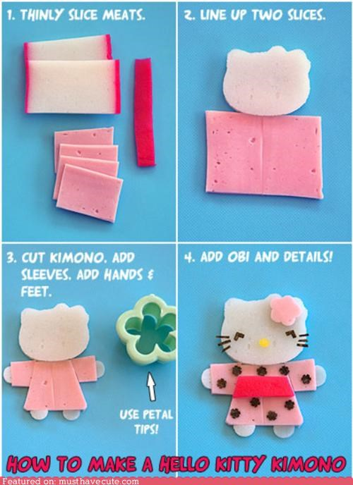 Epicute: How To Make a Bento Hello Kitty