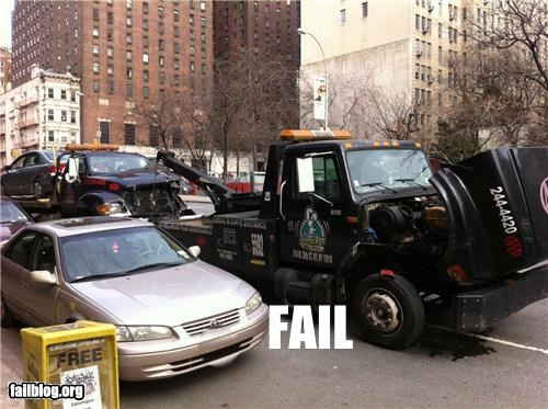 cars,driving,failboat,g rated,recursion,tow trucks