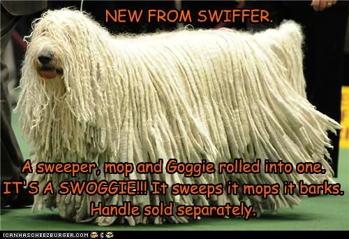 NEW FROM SWIFFER.