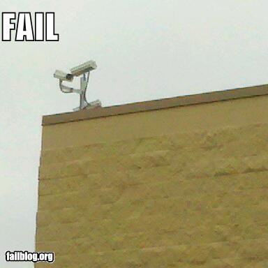 cameras,failboat,g rated,poor planning,security,technology