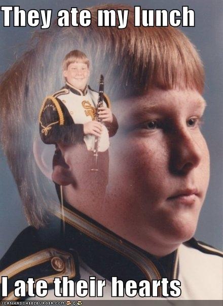 hearts,lunch,PTSD Clarinet Kid
