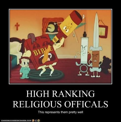 HIGH RANKING RELIGIOUS OFFICALS