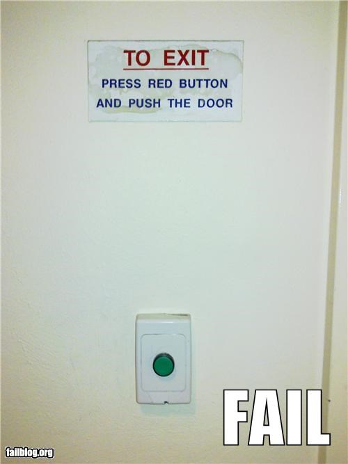 Button Fail