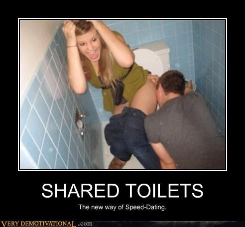 SHARED TOILETS