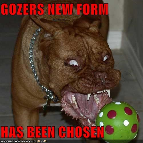 GOZERS NEW FORM  HAS BEEN CHOSEN