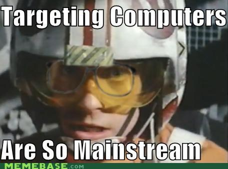 Hipster Luke: Targeting Computers