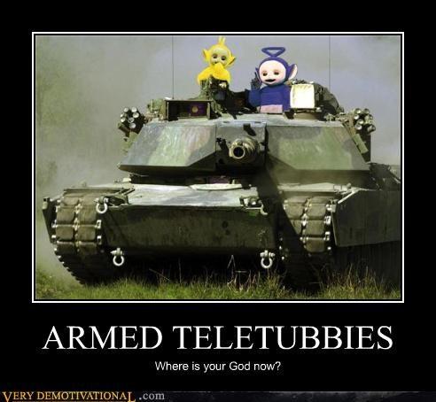 ARMED TELETUBBIES