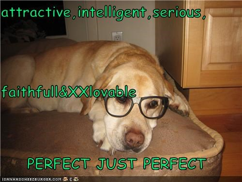attractive,intelligent,serious, faithfull&XXlovable PERFECT JUST PERFECT