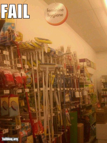 aisle,cleaning supplies,failboat,g rated,sexist,stereotypes,stores,wrong aisle