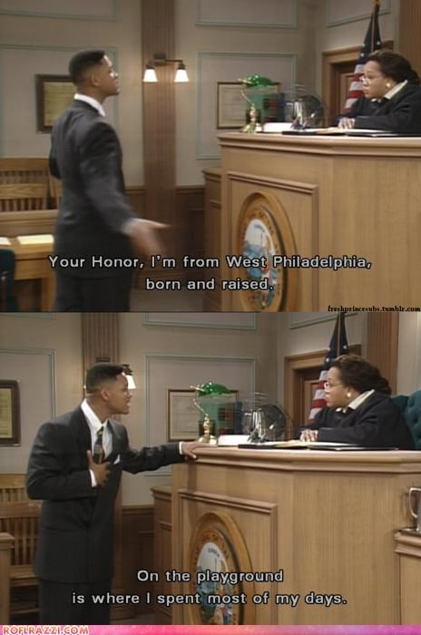 Legal Troubles? Use The Fresh Prince Defense