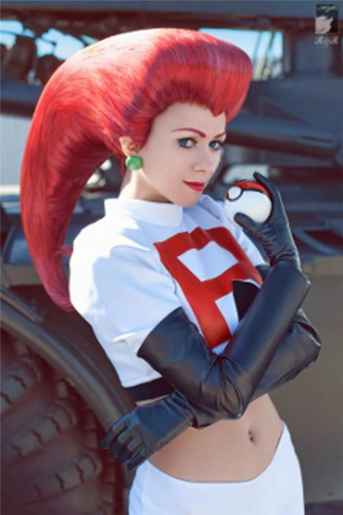 Cosplay-mate Of The Day: Jessie
