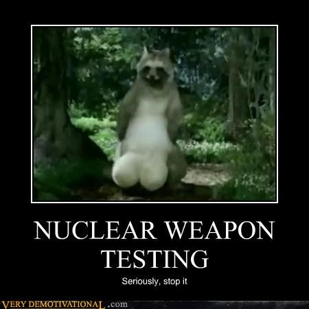 NUCLEAR WEAPON TESTING