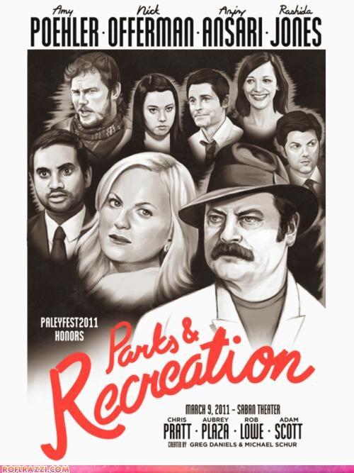 Parks & Recreation Meets Casablanca