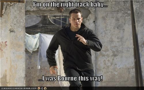 Jason Bourne This Way
