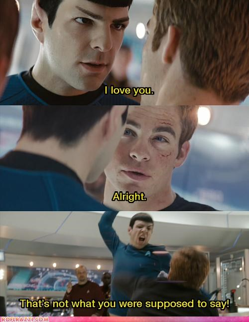 You Should Never Reject A Vulcan's Love