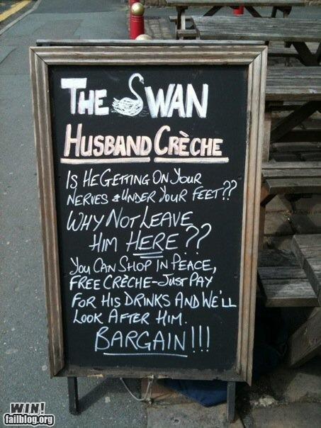 Husband Creche WIN