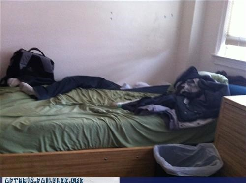Somebody Fell Asleep On The Wrong Side Of The Bed