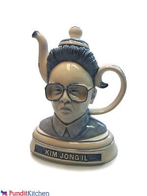 dictators,Kim Jong-Il,North Korea,product,tea,tea pot,wtf