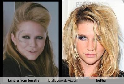 Kendra from Beastly Totally Looks Like Ke$ha