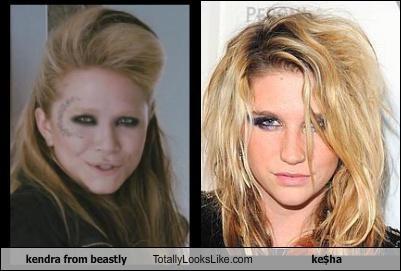 Kendra from Beastly Totally Looks Like Ke$ha