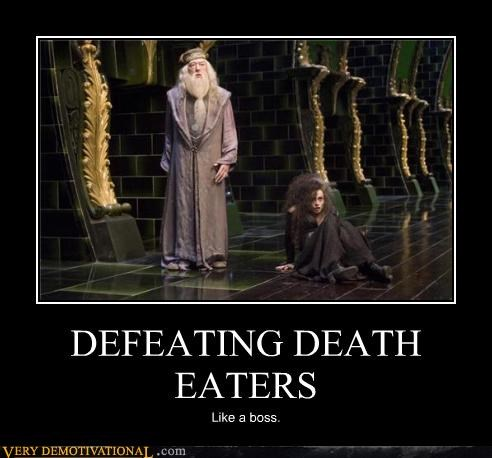 DEFEATING DEATH EATERS