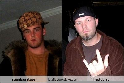 Scumbag Steve Totally Looks Like Fred Durst