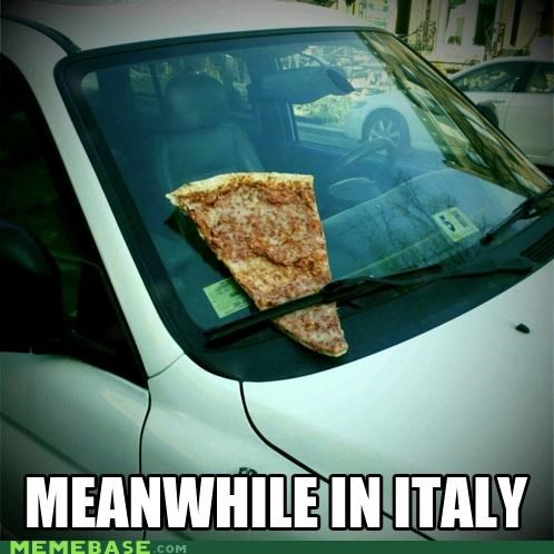 car,funny parking ticket,itsa me,pizza,slice