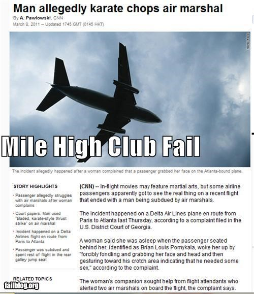 Mile High Club Fail