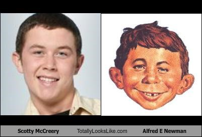 Scotty McCreery Totally Looks Like Alfred E Newman