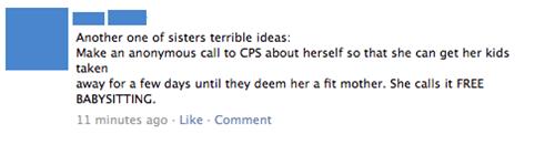 bad idea,cps,fail at life,parenting