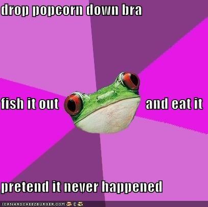 animemes,boobcorn,foul bachelorette frog,Popcorn