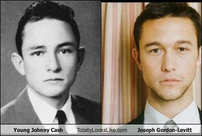 actors,johnny cash,Joseph Gordon-Levitt,musicians,young