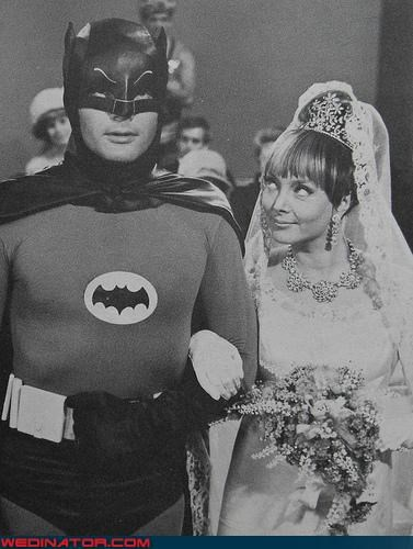 batman,funny wedding photos,retro,robin,vintage