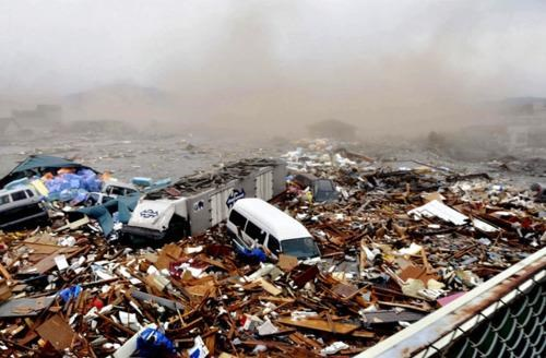 Breaking News of the Day: 2011 Sendai earthquake and tsunami