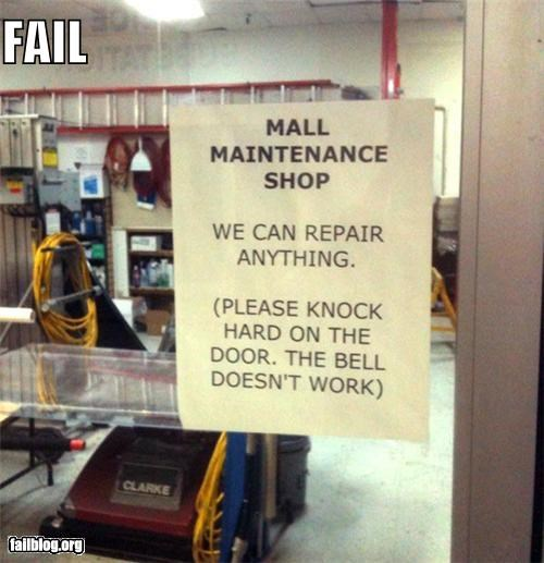 CLASSIC: Repair Shop FAIL