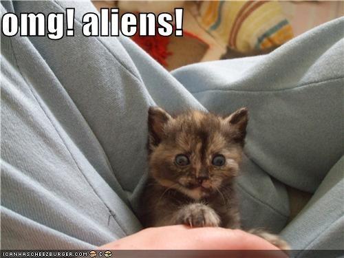 omg! aliens!