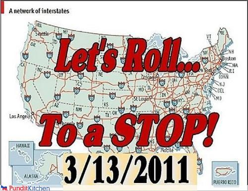 bad idea,barack obama,cars,idiots,protests,Sarah Palin,stupid,tea party