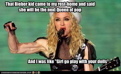 Settle Down, Madonna. It's Time For Your Nap...